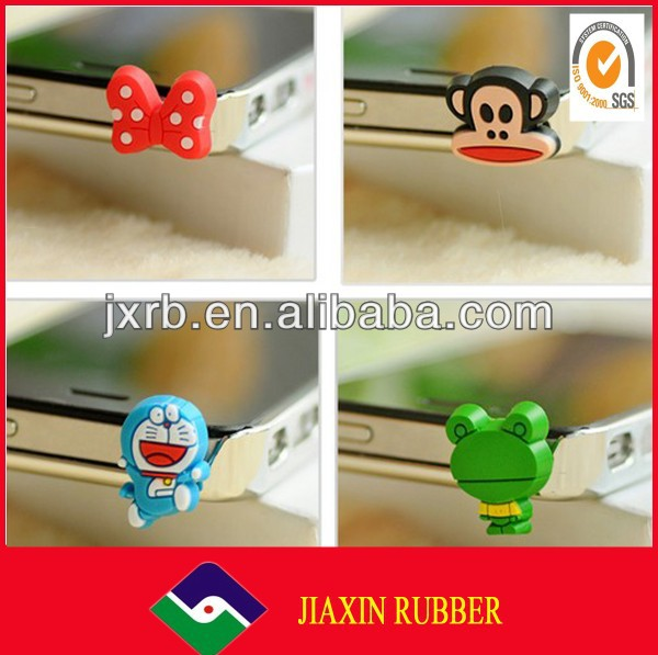 hot sale! high quality anti dust laptop jack /strawberry dust plug