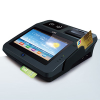 Jepower JP762A Android Electronic Payment Terminal with Card Reader and Barcode Reader