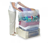Vacuum Seal Non-Woven Foldable Storage Closet for Bedding Saving 75% More Space
