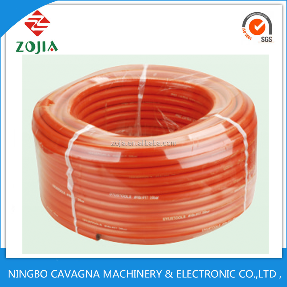 PVC different size colour 8*16 10*17 9*15 20 bar air hose