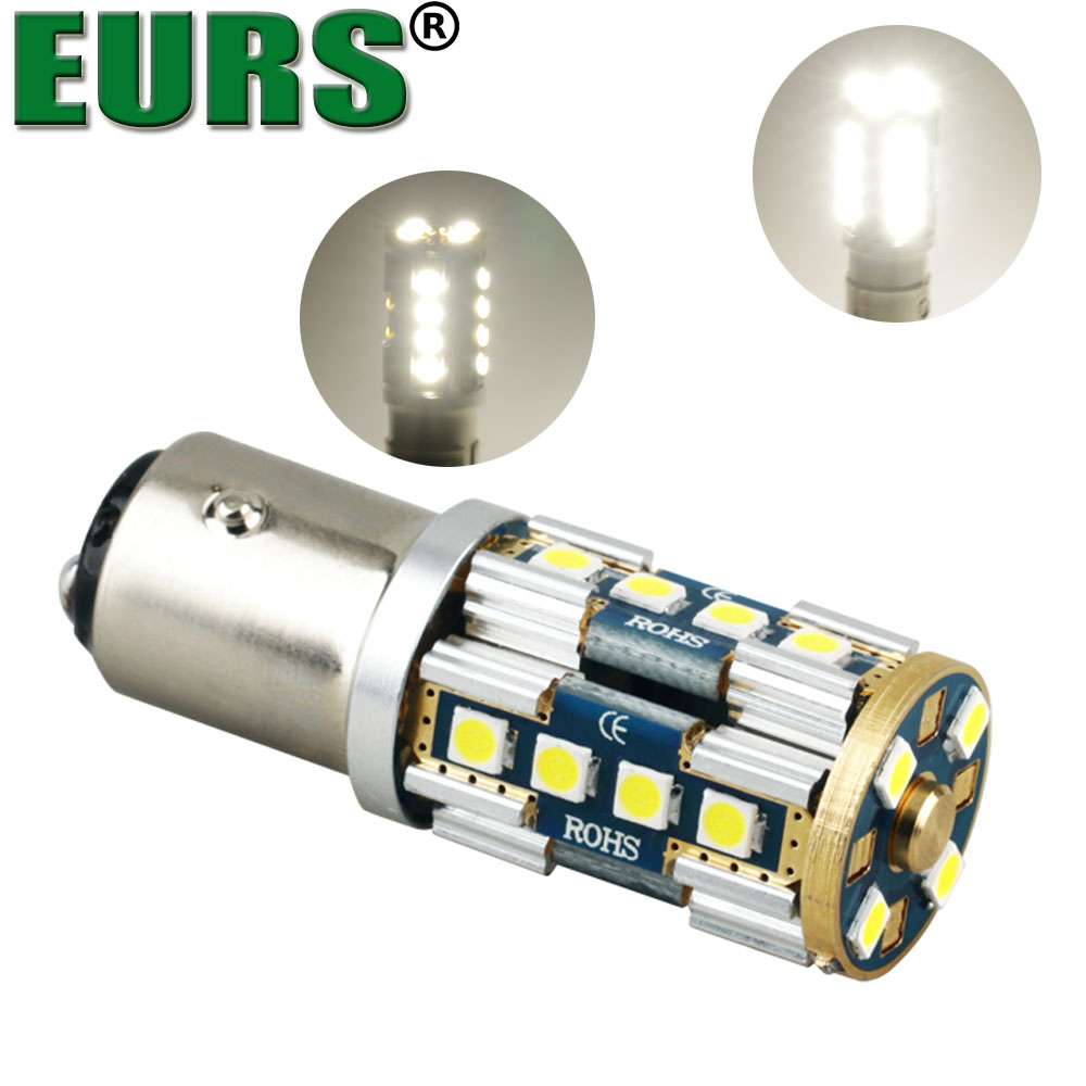 EURS super quality high power 1157 3030 20SMD 0.2A 6000K 10W auto brake led bulbs