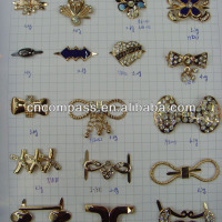 Fashion Metal Garment Accesories Rhinestone Flower