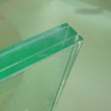 Factory price strict quality Bulletproof tempered Laminated glass one way bulletproof glass