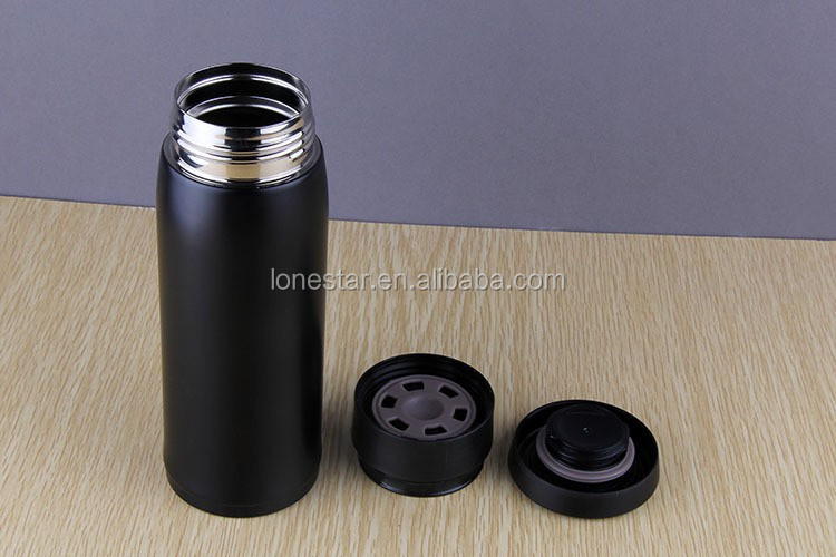 Fashion Stainless Steel Thermos Coffee Tea Water Travel Mug Vacuum Flask 600ML