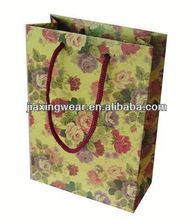 Hot sales paper bags canada for shopping and promotiom,good quality fast delivery
