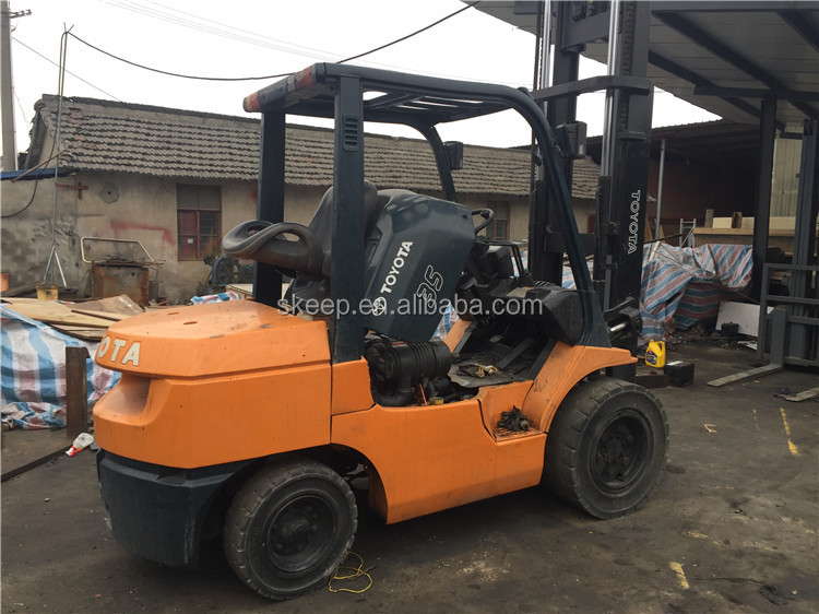 Made in Japan Promiton Price Toyota Used Forklift Truck