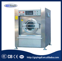 100kg top quality ethiopia hotel used commercial laundry washing machine for sale