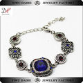 Wholesale cheap custom blue bracelet