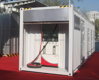 most excellent service sales gas mobile office, mobile radio, container mobile station