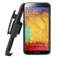 hard plastic phone holster combo case for samsung galaxy note 3 N9000