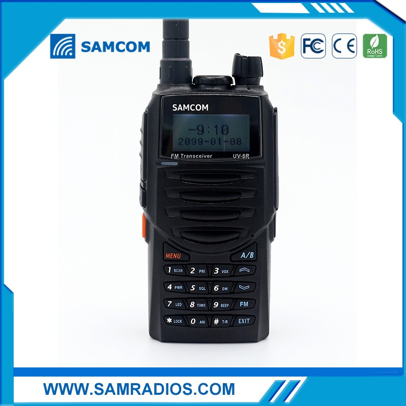 SAMCOM AP-400UV 220g Portable Dual Band Handy Walkie Talkie