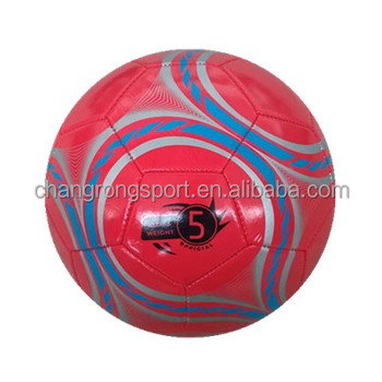 Custom Logo Printing Inflatable PVC Soccer Ball