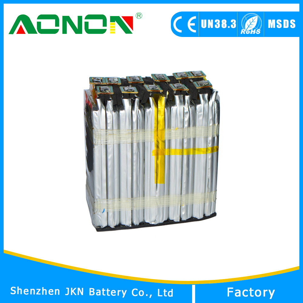 10S Rehcargeable Li polymer Battery Pack 37V 4000mAH