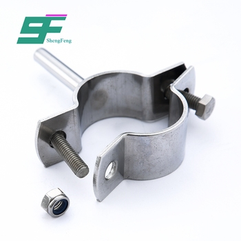 Factory wholesale reliable stainless steel clamp sanitary pipe holder