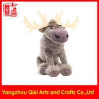 2016 china animal products soft toys customized stuffed animal reindeer