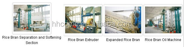 High Quality Rice Bran Oil Machinery With ISO 9001 Certificate