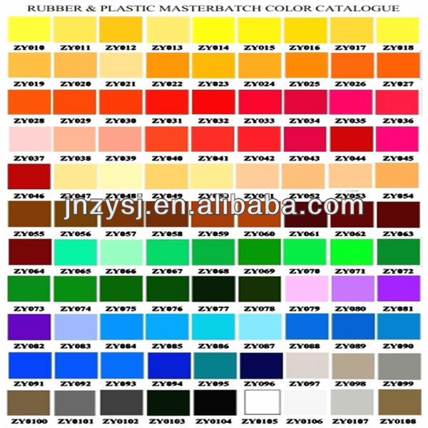 abs pre-coloured granule masterbatch for polymer plastic abs color master batch