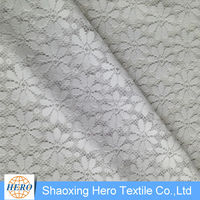 Made in China fancy jacquard polyester bed sheet fabric for home textile