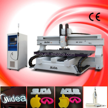 SUDA CNC ROUTER MACHINE MC2513 ACRYLIC CUTTING MACHINE
