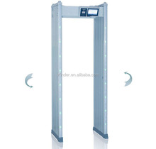 2017 New Digital touch screen door frame walk through metal detector