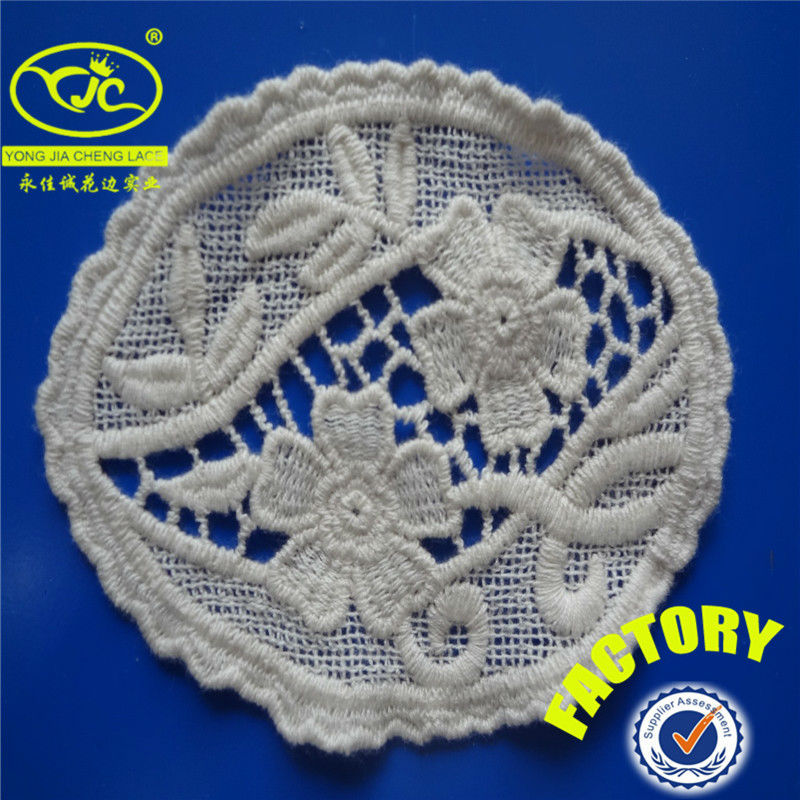 YJC18408 latest design fashion chinese sex lace crochet collar for clothes