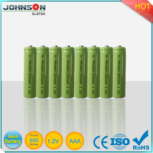AAA nimh rechargeable battery pack 3.6V 600mah