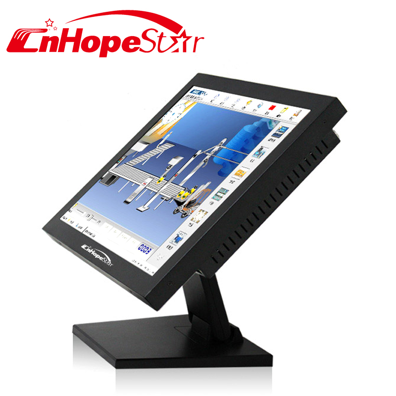 Open frame 15 inch touch screen all - in - one computer
