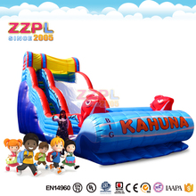 ZZPL Outdoor Home Use Big Kahuna Inflatable Dry or Water Slide Commercial for Adults and Kids