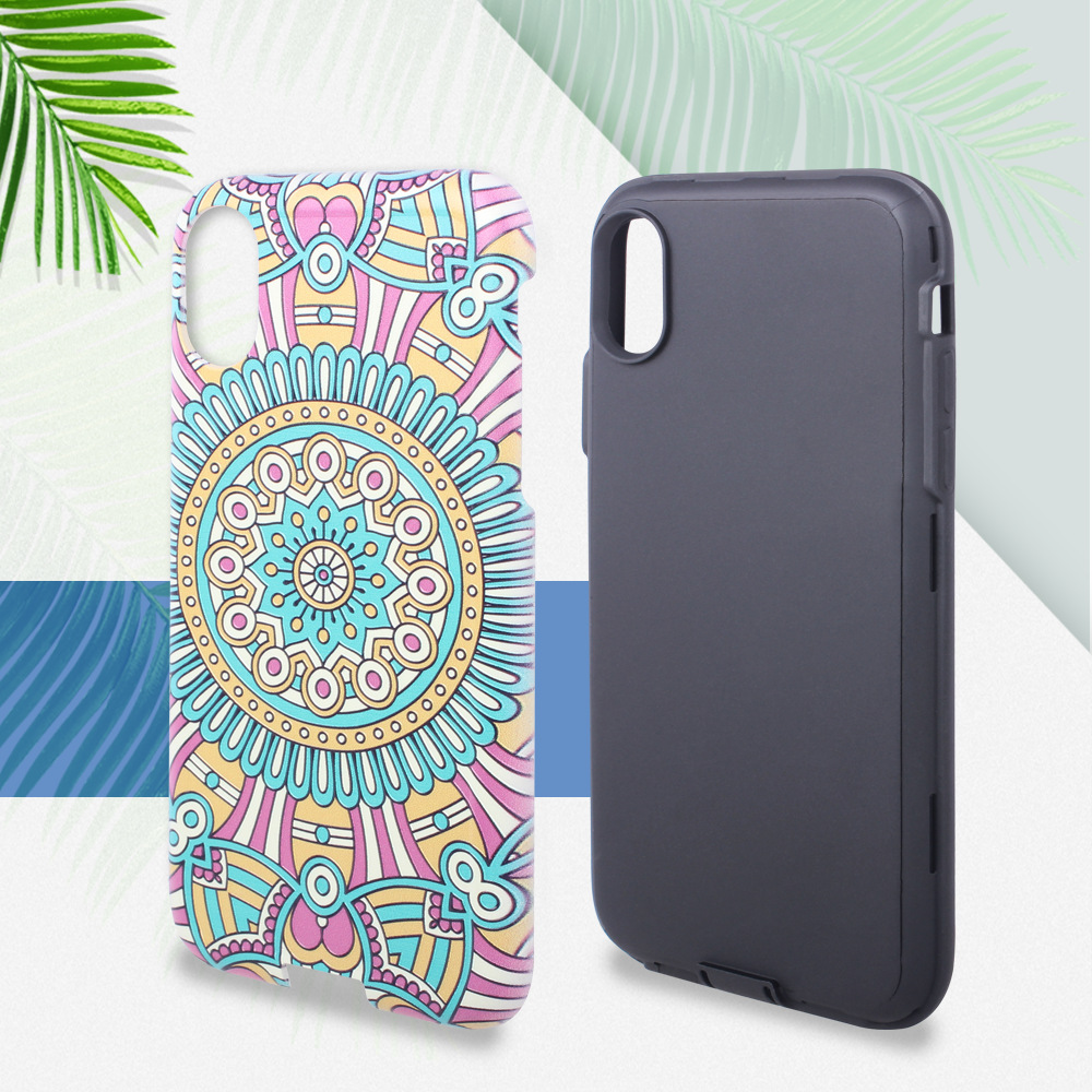 products trending in usa Latest 3D 2 in 1 with design your own silicone phone case for iPhone X 8 7 6 5 4 + custom