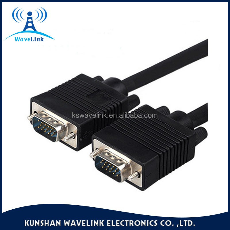 Factory Price Free Samples Male to Male HDB15P SVGA VGA Cable 3M Length