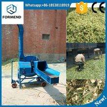 Animal feed using wheat straw rice straw corn stalks chaff cutter with low price