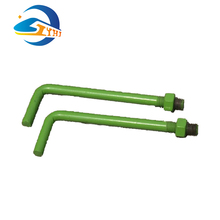 Railway L shaped hot sale Standard size high quality anchor bolt
