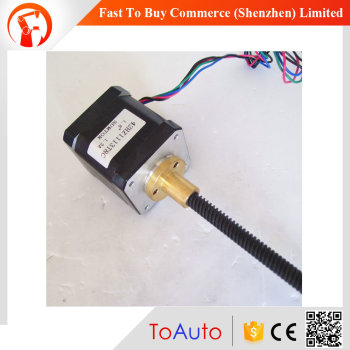 42HZ1113T8C 110mm 1.3A 0.52Nm cheap leadscrew linear stepper actuator