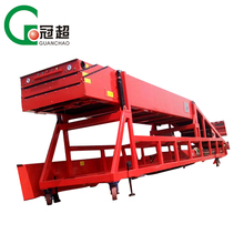 Hot sale high speed extendable gravity telescopic belt container unloading conveyor