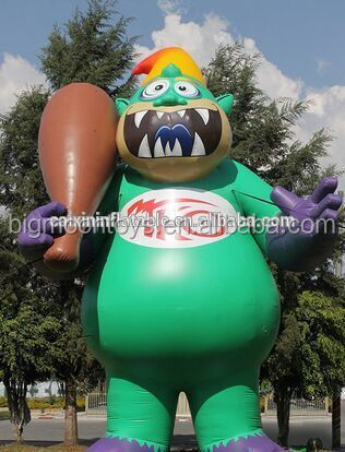 25ft custom inflatable Toyota Monster mascot,inflatable cartoon characters giant inflatable animals