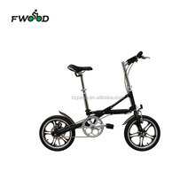 16 Inch single speed aluminum alloy frame lightweight mini folding bike