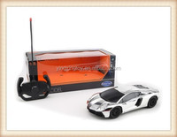 plastic silver car model rc 4 function toy car for kids