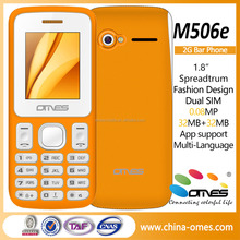 Welcome OEM Brand x506e 1.8inch 2G GSM super cheap mobile phone