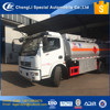 Made in China CLW export fuel tank truck 7 cbm 7000 liter diesel refueling tank truck for sale in Africa in Philippines in India