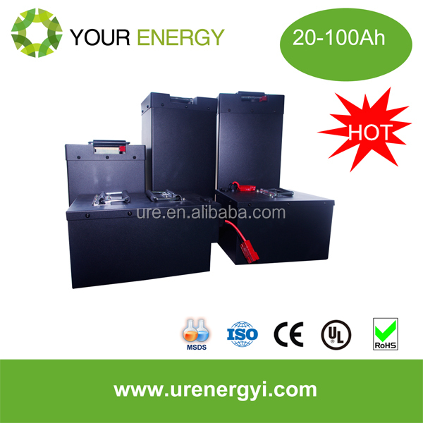 Li-ion 12V 100Ah electric car battery