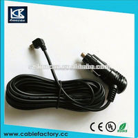 Car cigarette lighter jack, wholesale multi core electrical spring cable with cigarette lighter plugs