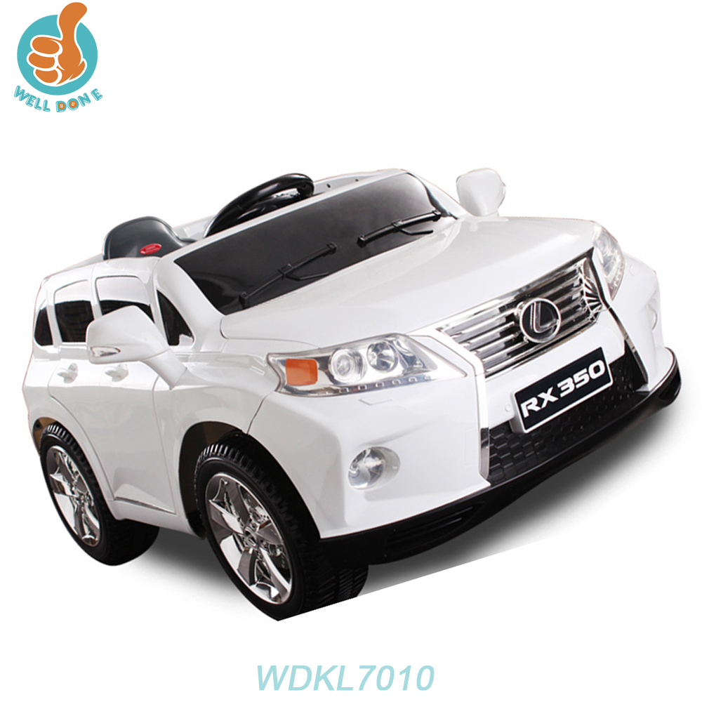 WDKL7010 Licensed Ride on Toy Four Wheel 12V Cheap Powerful Electric Car Items for Kids