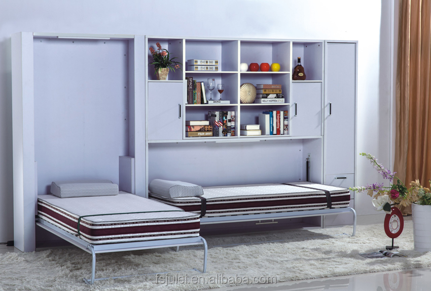 SMART HOME FOLDING MURPHY BED WITH DESK