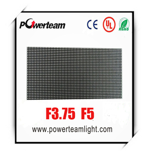 8x8 dot matrix led display F3.75 4.75mm pixel singe color board