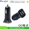 Hot selling OEM 2.4A charger mobile phone accessories single port USB car charger