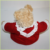 30cm brown warm adult Corporate gift lady red sweaters bear with lace