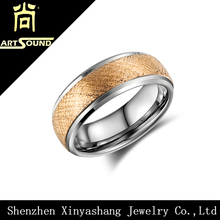 China manufacturer simple new design gold finger ring