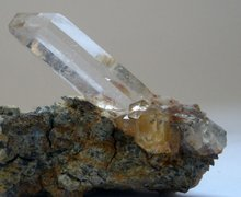 Quartz Crystal with Matrix