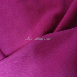 65% cotton and 30% polyester 5% spandex knitted french terry stretch fabric