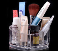 Unique design Acrylic Makeup Case Storage Cosmetic Organizer